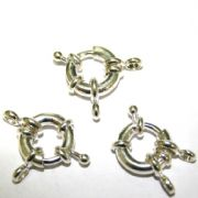 Ring Clasps - Silver Plated - Ring Attachment